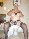 Grandma Libby. White Robe Bathroom Free Pic 9