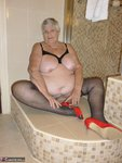 Grandma Libby. White Robe Bathroom Free Pic 18