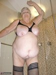 GrandmaLibby. White Robe Bathroom Free Pic 20