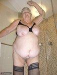 Grandma Libby. White Robe Bathroom Free Pic 20