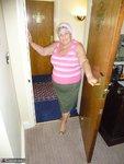 Grandma Libby. Pink Scarf Free Pic 1