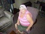 Grandma Libby. Pink Scarf Free Pic 2