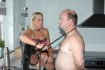 Kyras Nylons. Kyra and slave Mattie Free Pic 11