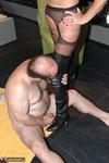 Kyras Nylons. Kyra and slave Mattie Free Pic 17