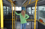 SweetSusi. Naked On The Bus Free Pic 1