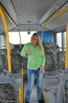 SweetSusi. Naked On The Bus Free Pic 3
