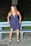 KyrasNylons. Kyra's Park Bench Golden Shower Pt1 Free Pic 1