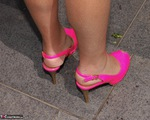 Kyras Nylons. Pink Tartan Free Pic 1