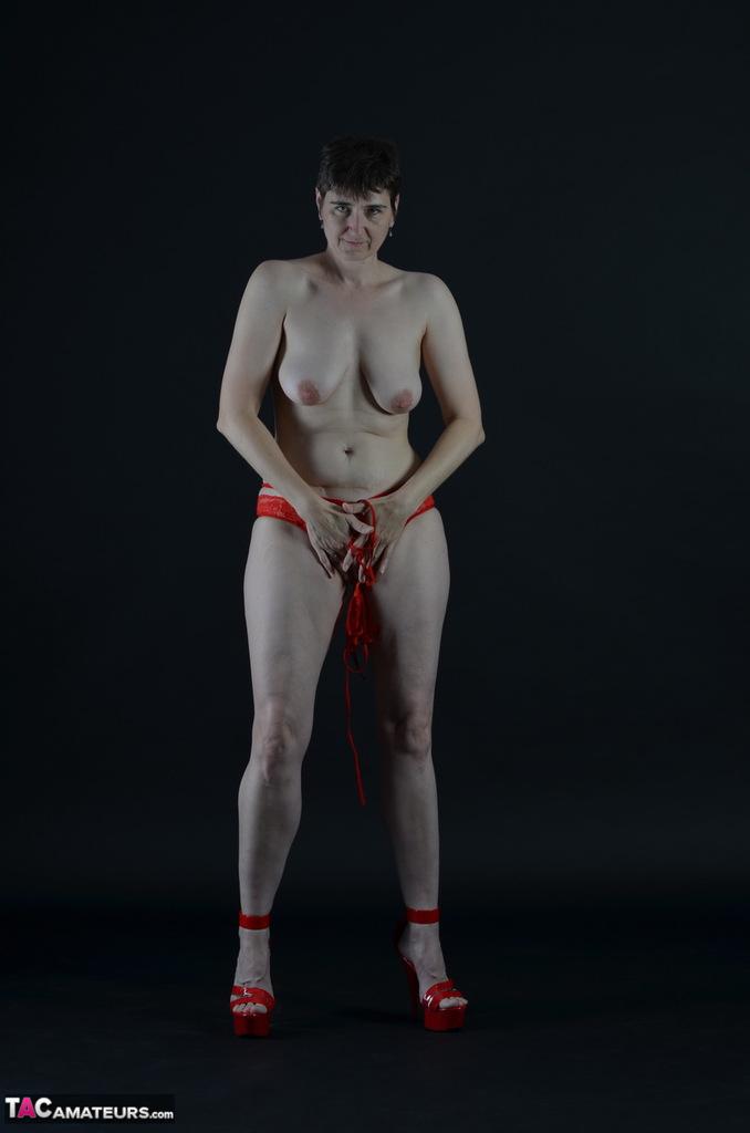 Red Lingerie Strip 85