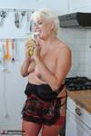 . Stripping & Eating A Banana Free Pic 15