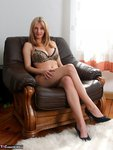 Vanessa. Leopard Panties On The Couch Free Pic 1