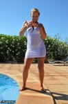 SweetSusi. Wet T-Shirt At The Pool Free Pic 6