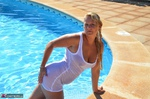 SweetSusi. Wet T-Shirt At The Pool Free Pic 19