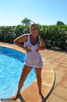 SweetSusi. Wet T-Shirt At The Pool Free Pic 20