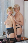 MollyMILF. Molly & Di Fur Coat Strip Free Pic 11