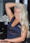Dimonty. Lacey In A Blue Dress Free Pic 13