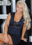 Dimonty. Lacey In A Blue Dress Free Pic 17
