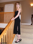KissAlissa. Long Black Dress Pt1 Free Pic 1