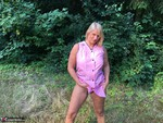 Sweet Susi. In The Pink Coat Outside Free Pic 8