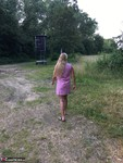 Sweet Susi. In The Pink Coat Outside Free Pic 12