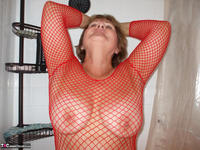 BustyBliss. Red Fishnet In The Shower - By Request Pt1 Free Pic 5
