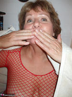 BustyBliss. Red Fishnet In The Shower - By Request Pt1 Free Pic 6