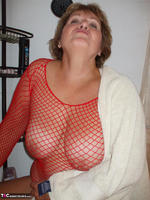 BustyBliss. Red Fishnet In The Shower - By Request Pt1 Free Pic 7