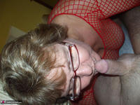 BustyBliss. Red Fishnet In The Shower - By Request Pt1 Free Pic 20