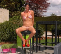 KyrasNylons. Pantyhose In The Garden Pt1 Free Pic 20