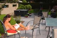 Kyras Nylons. Pantyhose In The Garden Pt2 Free Pic 10
