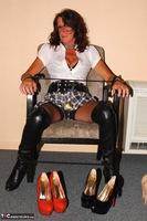Kyras Nylons. Pantyhose In The Garden Pt2 Free Pic 11