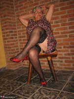 Girdle Goddess. Horny In Thigh High Hoisery Free Pic 2