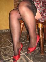 Girdle Goddess. Horny In Thigh High Hoisery Free Pic 4