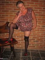 Girdle Goddess. Horny In Thigh High Hoisery Free Pic 8