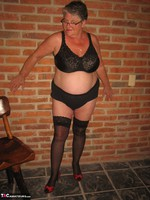 Girdle Goddess. Horny In Thigh High Hoisery Free Pic 10