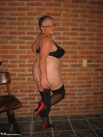 Girdle Goddess. Horny In Thigh High Hoisery Free Pic 12
