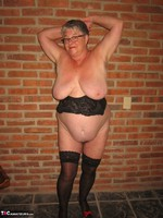 Girdle Goddess. Horny In Thigh High Hoisery Free Pic 14
