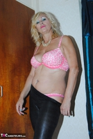 PlatinumBlonde. Pink Top & Leather Trousers Free Pic 10