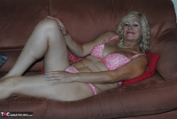 PlatinumBlonde. Pink Top & Leather Trousers Free Pic 16