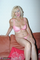 PlatinumBlonde. Pink Top & Leather Trousers Free Pic 17