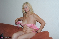 PlatinumBlonde. Pink Top & Leather Trousers Free Pic 19