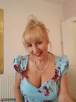 LornaBlu. Whats beneath my blue dress Free Pic 8
