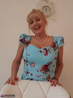 LornaBlu. Whats beneath my blue dress Free Pic 9