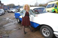 BarbySlut. Barby Does Classic Car Fun Free Pic 1