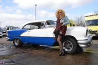 BarbySlut. Barby Does Classic Car Fun Free Pic 2