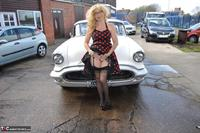 BarbySlut. Barby Does Classic Car Fun Free Pic 4