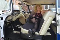 BarbySlut. Barby Does Classic Car Fun Free Pic 7