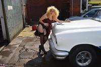 BarbySlut. Barby Does Classic Car Fun Free Pic 9