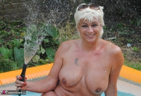 Dimonty. Playing Naked In My Paddling Pool Free Pic 4