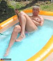 Dimonty. Playing Naked In My Paddling Pool Free Pic 8